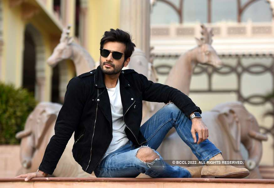 TV actor Karan Tacker visits Jaipur
