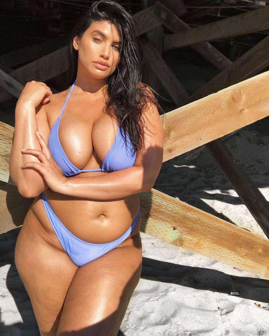 'Curves be like La'Tecia,' inspiring story of a plus-size model...