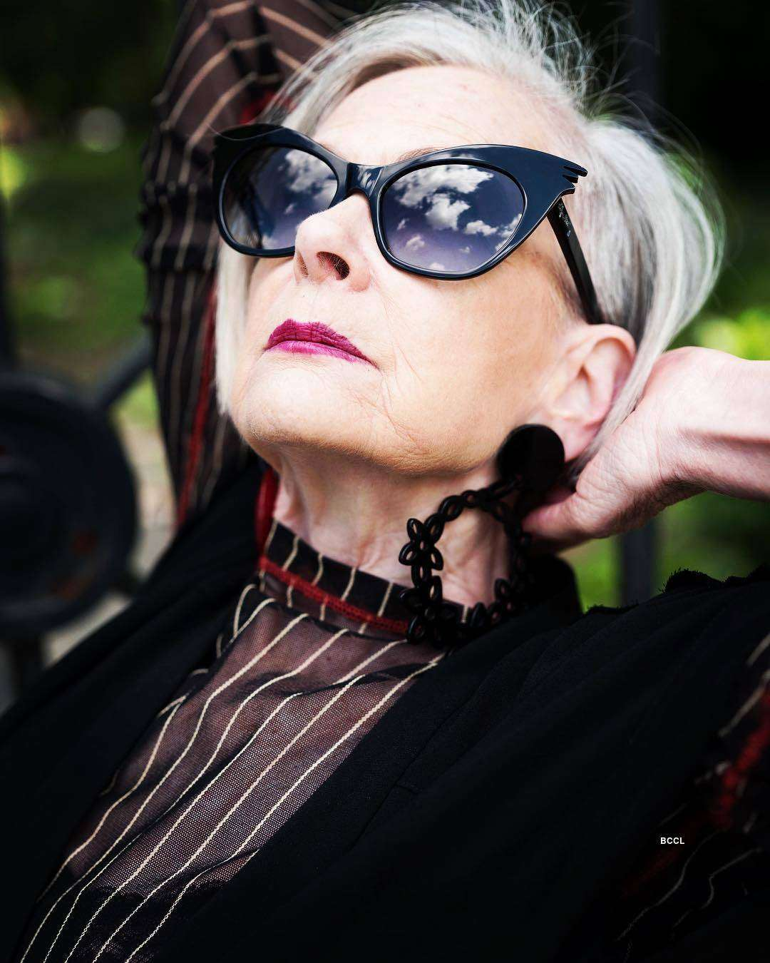 64-year-old grandmother gives young models run for their money