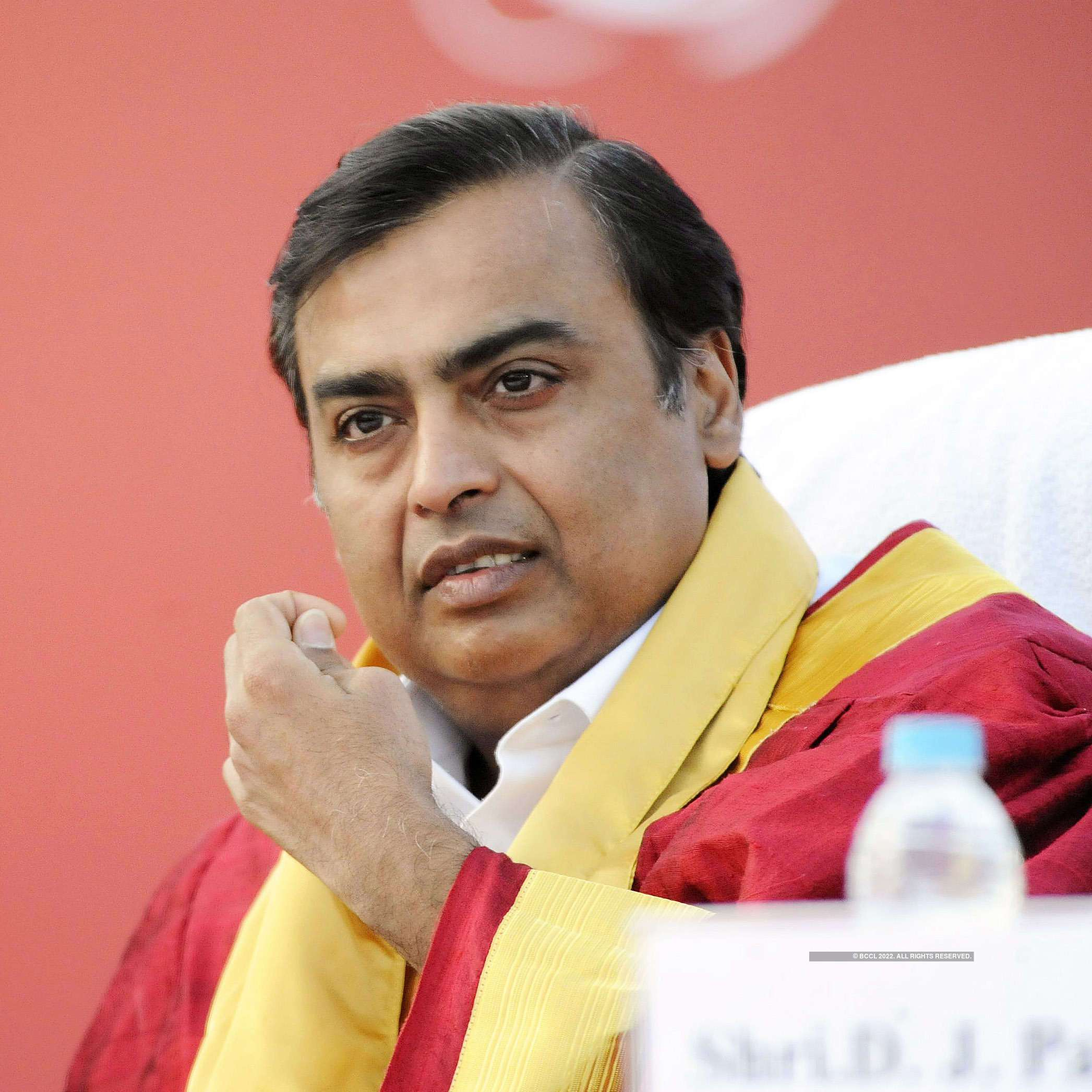 Pictures of India's richest man Mukesh Ambani, an epitome of success