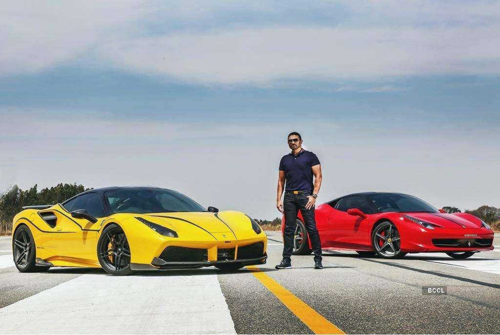 Viral pictures of Bengaluru-based businessman Ranjit Sundaramurthy & India's 'first' McLaren 720S