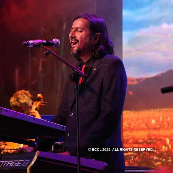 Ricky Kej performs in the city