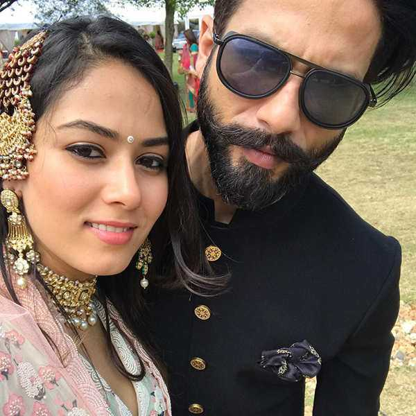 Shahid Kapoor's romantic selfie with wife Mira Rajput