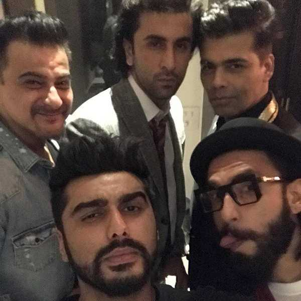 Arjun Kapoor's selfie on his birthday