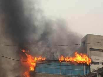 Gas cylinder explosion in Ranigunjs Bombay Hotel