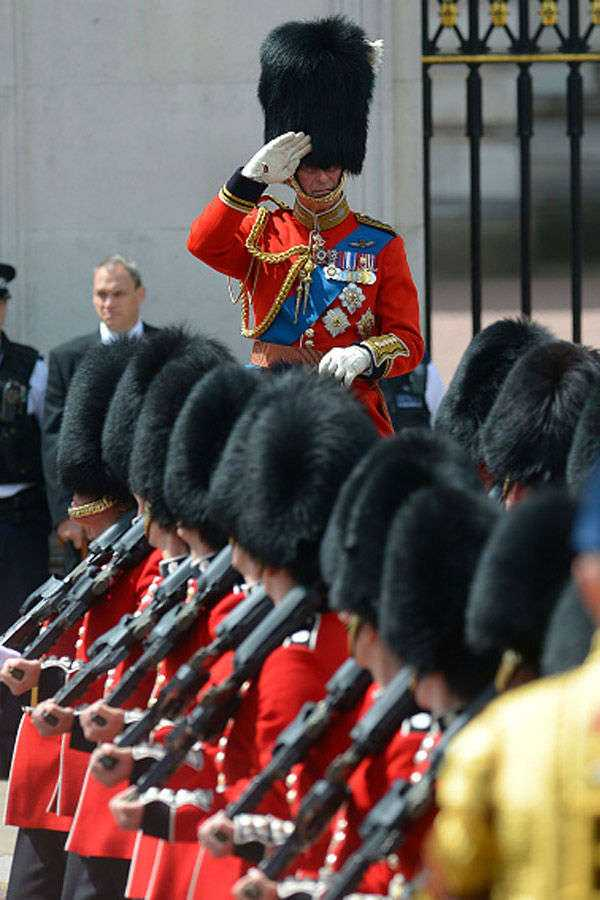 Trooping the Colour ceremony: Latest News, Videos and Photos