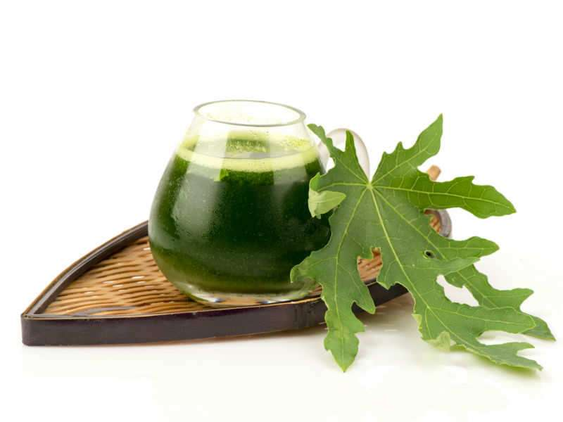 How to use papaya leaves to fight dengue | The Times of India