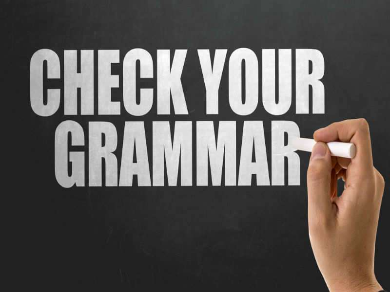 9 grammar mistakes it is okay to make | The Times of India