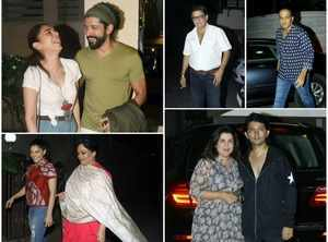 Pics: Javed Akhtar's star-studded birthday party