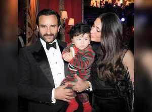 Saif, Bebo & Taimur's perfect family picture