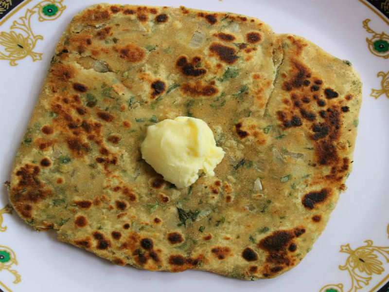 You can have this PARATHA in your breakfast and still LOSE