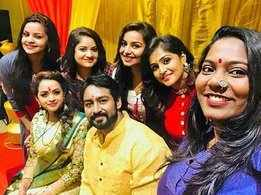 Bhavana weds Naveen in a simple ceremony in Thrissur