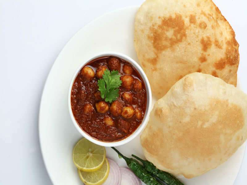 I had chole bhature as my breakfast for 5 days and here's what