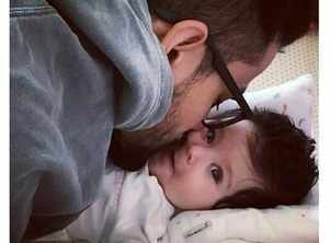 Inaaya's cute picture with father Kunal