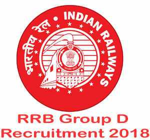 RRB Group D Recruitment 2018: Notification, application, exam