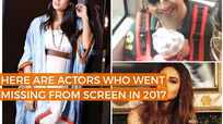 TV Actors who went missing from the screen in 2017