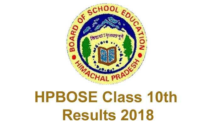 HPBOSE 10th Result 2018: HP Board Class 10 Results declared