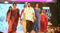 Jayasurya walks the ramp at Njan Marykutty trailer launch