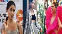 Hina Khan: Look up to Sonam Kapoor and Deepika Padukone for style