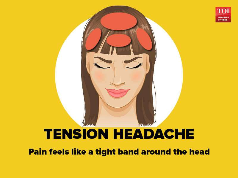 Identify the pain in your head: 8 types of headaches | The Times of