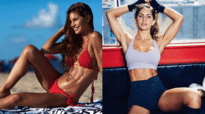 Ex swimsuit model ditched bikini for boxing shots