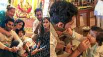 Taimur Ali Khan celebrates Ganesh Chaturthi, video goes viral