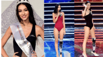 Girl with prosthetic leg nabs the third spot in the Miss Italia contest