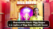 Ganpati Special: Sharmishtha Raut's 'Bigg Bappa' is a replica of Bigg Boss Marathi house