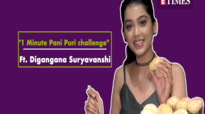"Digangana Suryavanshi takes ""1 minute Pani Puri"" challenge on birthday"