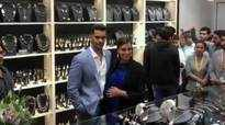 Angad Bedi takes out Neha Dhupia for jewellery shopping