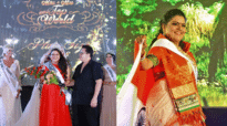 Indias Meenal Sujit wins third runner up title at plus size pageant