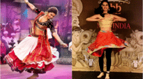 Manushi Chhillar's exotic dance performance on Deepika Padukone's songs