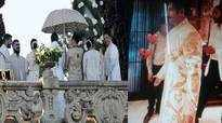 Pics and Videos: Deepika Padukone, Ranveer Singh's Konkani style wedding, fireworks in display
