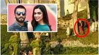 Deepika Padukone, Ranveer Singh wedding: Bride spotted in red and golden saree