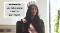 Anukreethy Vas talks about  #Me too movement