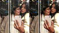 Priyanka Chopra and her mother flaunt pouting skills in a mirror selfie