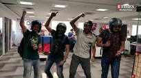 Fans in Mumbai play Live PUBG in office during break time