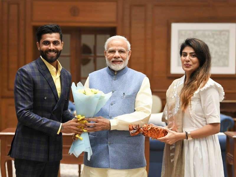 I support BJP, Narendra Modi: Cricketer Ravindra Jadeja