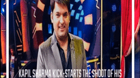 Kapil Sharma kick-starts the shoot of his new show; take a look at the first picture of the set