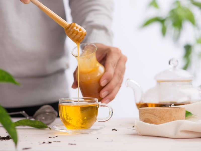 ALERT! Adding honey to anything warm can be dangerous for