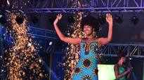 Beauty queen wig catches fire at pageant finale