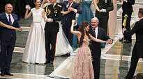 Belarus President dances with Miss World Europe 2018