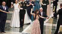 Belarus President dances with Miss World Europe 2018