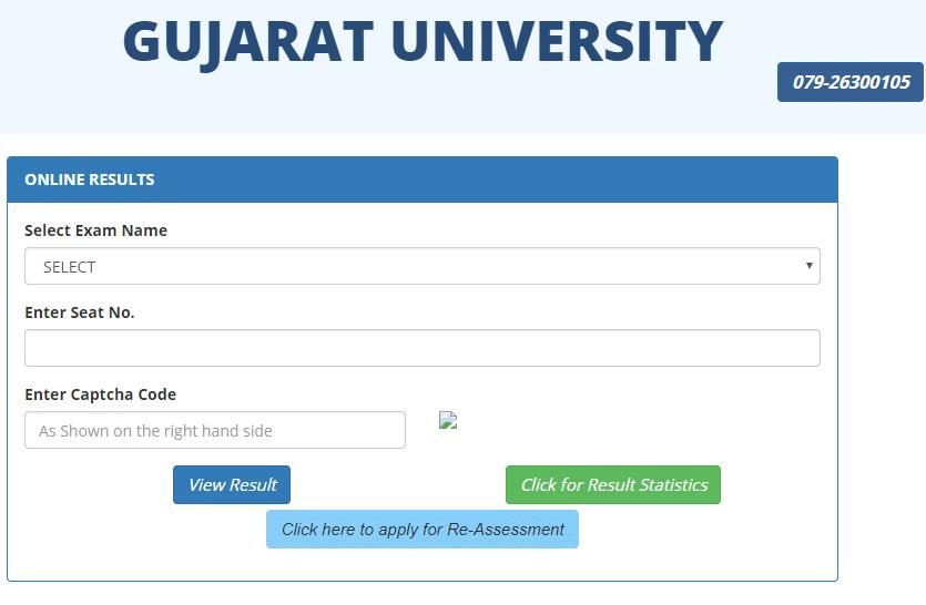 Gujarat University Result 2018 released @ result