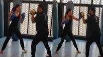 Disha Patani shares latest boxing training video, calls it 'don't mess with me'
