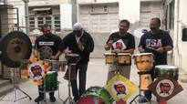 Mumbai's renowned drummers jam together
