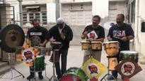 Mumbai's renowned drummers jam together
