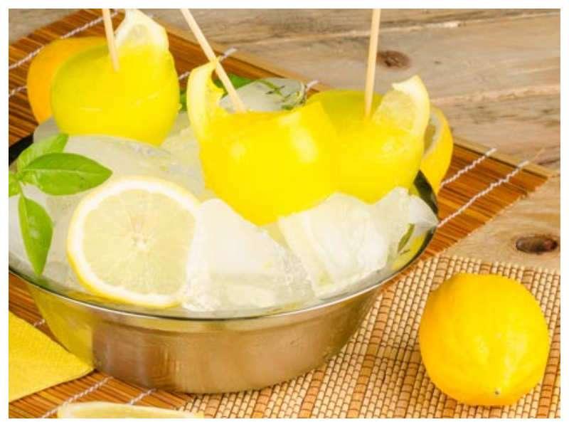 Health Benefits of Eating Frozen Lemons | Frozen Lemons to Cure
