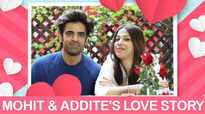 Valentine's Day: Mohit Malik & Addite Malik's love story is beautiful |Kulfi Kumar Bajewala|