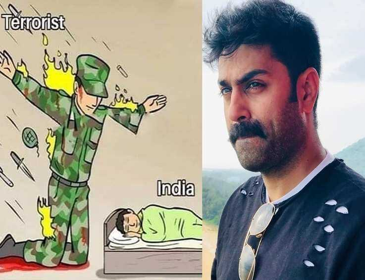 Malayalam TV hosts salute the martyrs